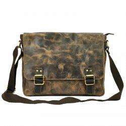 Pánská taška přes rameno Always Wild Medard - hnědá