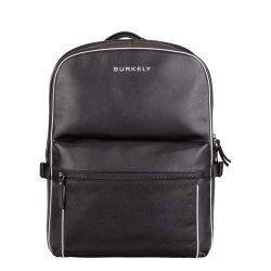 Trendy kožený batoh Burkely Lucent - černá